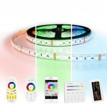 3 meter RGB Pro led strip complete set - 288 leds