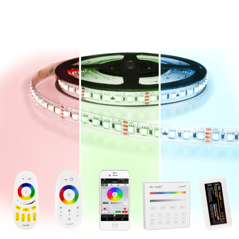 9 meter RGB Pro led strip complete set - 1080 leds