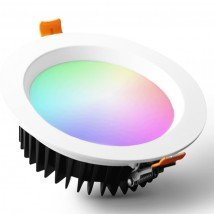 Zigbee LED downlight RGBWW inbouwspot - 6 Watt - alternatief voor Hue spots