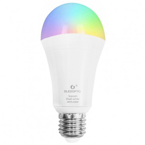 Zigbee LED lamp RGBWW 12W E27 fitting - Hue alternatief LED lamp
