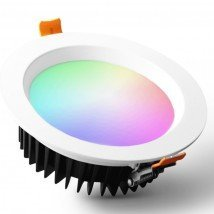Hue compatible LED downlight RGBWW inbouwspot - 9 Watt - Zigbee