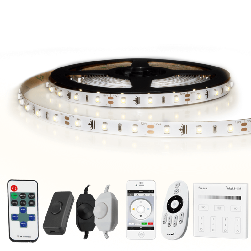 1 METER - 60 LEDS complete led strip set Helder Wit