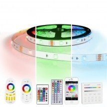 1 meter RGB led strip complete set - 30 leds