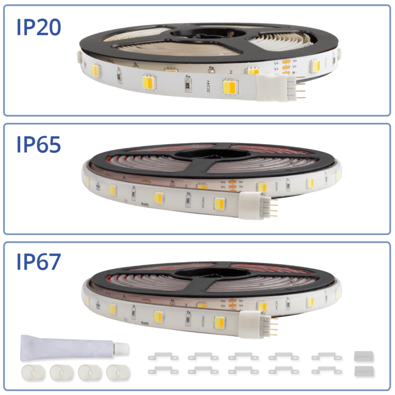 DUAL WHITE LED STRIPS
