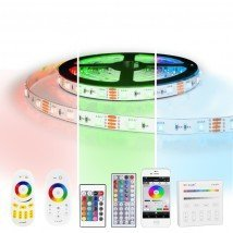 10 meter RGB led strip complete set - 600 leds