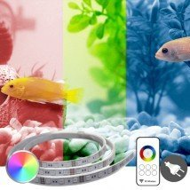 10 t/m 50 cm - RGB complete set aquarium led strip