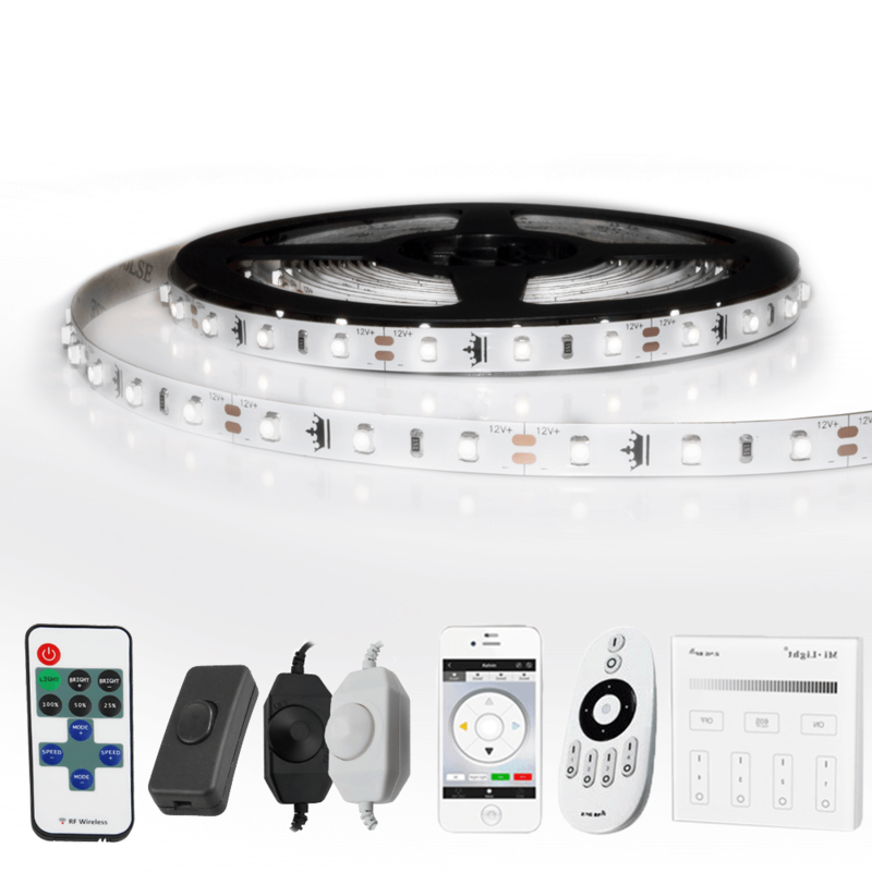 14 METER - 840 LEDS complete led strip set Koud Wit