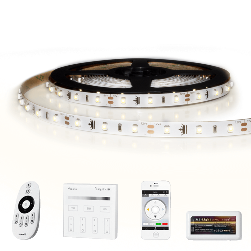 21 METER - 1260 LEDS complete led strip set Helder Wit
