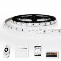 25 METER - 1500 LEDS complete led strip set Koud Wit