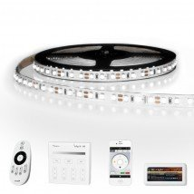 25 METER - 3000 LEDS complete led strip set Koud Wit