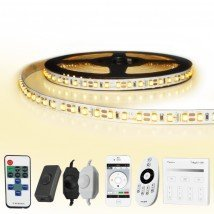5 METER - 600 LEDS complete led strip set Warm Wit