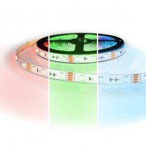 5 meter - 300 LEDS - RGB led strip