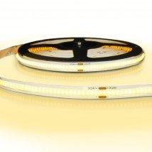 5 meter COB led strip IP20 24V - Extra warm wit 2400K - 384 leds p/m