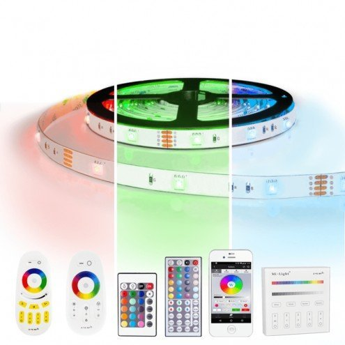 5 meter RGB led strip complete set - 150 leds