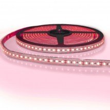 5 meter gekleurde led strip IP65/67 12V of 24V - Rode kleur - 120 leds p/m