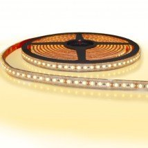 5 meter led strip IP65/67 12V of 24V - Extra warm wit 2400K - 120 leds p/m