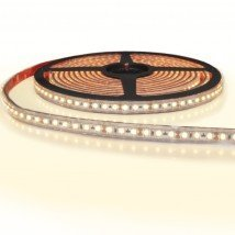 5 meter led strip IP65/67 12V of 24V - Warm wit 3000K - 120 leds p/m