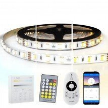9 meter Dual White led strip complete set - Premium 1080 leds