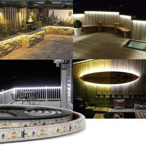 Assortiment losse led strip buiten wit - 1 meter