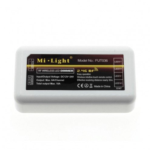 Milight controller voor RF 4-zone set single color led strip