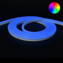 RGB Neon Led Flex maxi rond 10 meter - losse strip