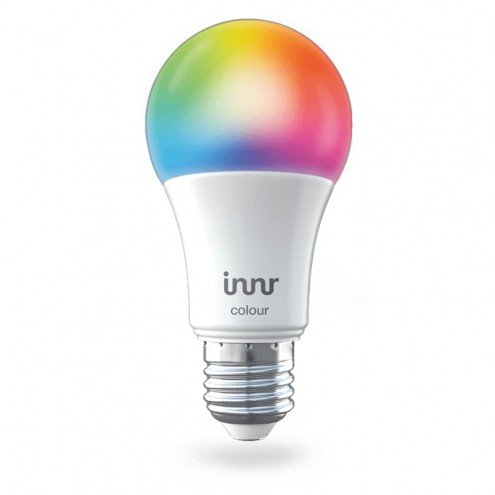 Slimme Innr LED lamp E27 fitting in White and Color te bedienen via de Hue app