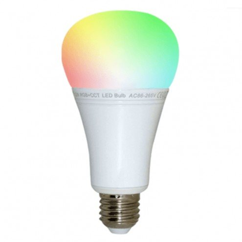 Wifi LED lamp RGBWW 12 Watt E27 fitting