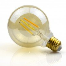 Zigbee LED filament lamp Dual White 7W E27 fitting amberkleurig - Hue alternatief LED lamp