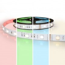 4 meter RGBW led strip Basic met 144 leds - losse strip
