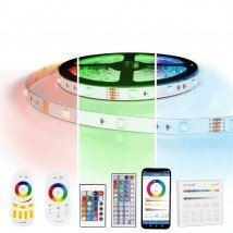 7 meter RGB led strip complete set - 210 leds