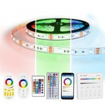 2 meter RGB led strip complete set - 120 leds