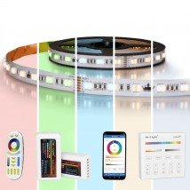 21 meter RGBWW led strip Premium met 1260 leds - complete set