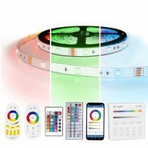3 meter RGB led strip complete set - 90 leds