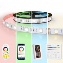 45 meter led strip RGBW complete set - Basic 3240 leds