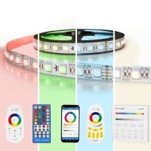 7 meter RGBW led strip complete set - Premium 504 leds