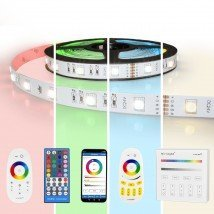 8 meter RGBW led strip complete set - Basic 288 leds